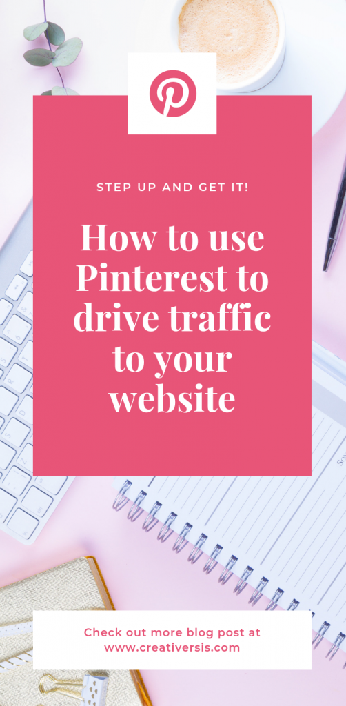 How to use Pinterest to drive traffic to your website 2
