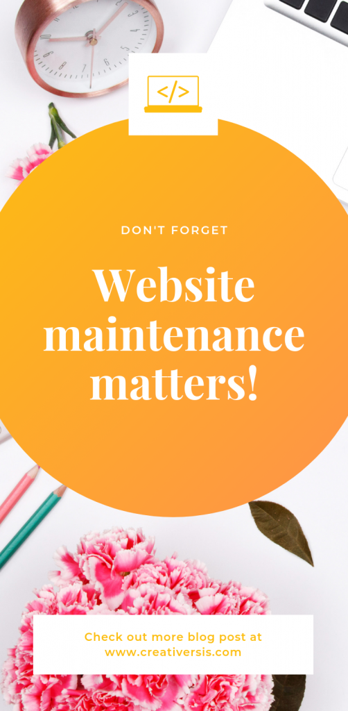 Why is Website Maintenance so important for your Business? 2