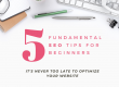 Five Fundamental SEO Tips for Beginners