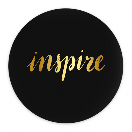 #Inspire | Pin-Back Button | Support Collection 1