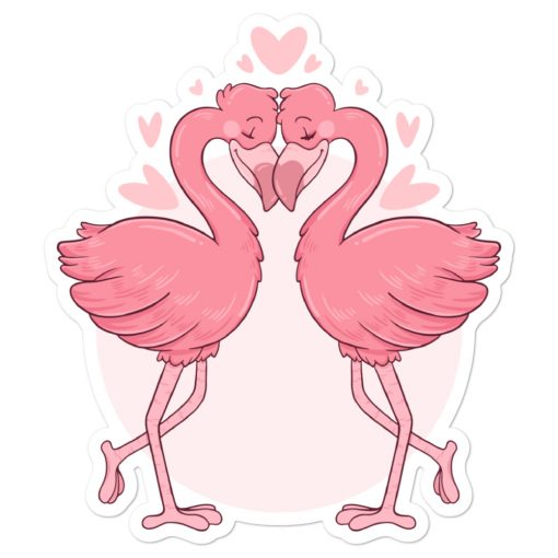 #flamingoes | Stickers | Valentine's Day Collection 1