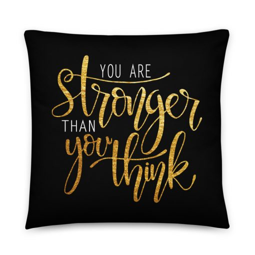 #stronger | Basic Pillow | Support Collection 1