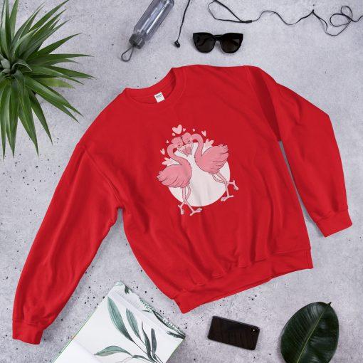 #flamingoes | Sweatshirt | Valentine's Day Collection 8