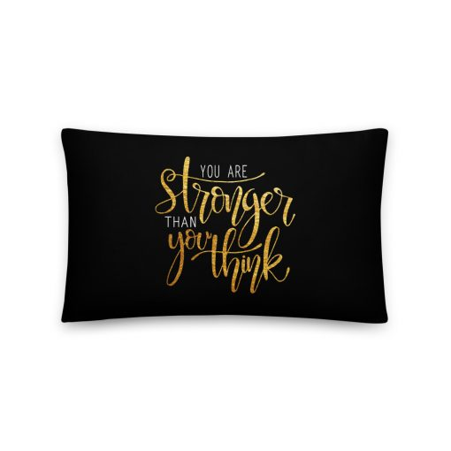 #stronger | Basic Pillow | Support Collection 2