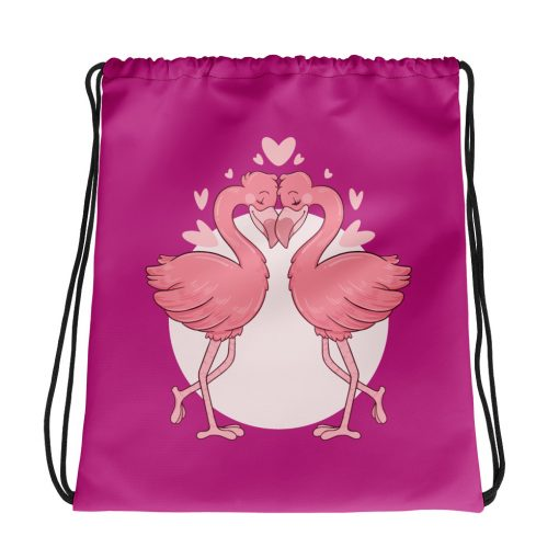 #flamingoes | Drawstring bag | Valentine's Day Collection 1