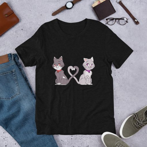 #catCouple | Short-Sleeve T-Shirt | Valentine's Day Collection 5