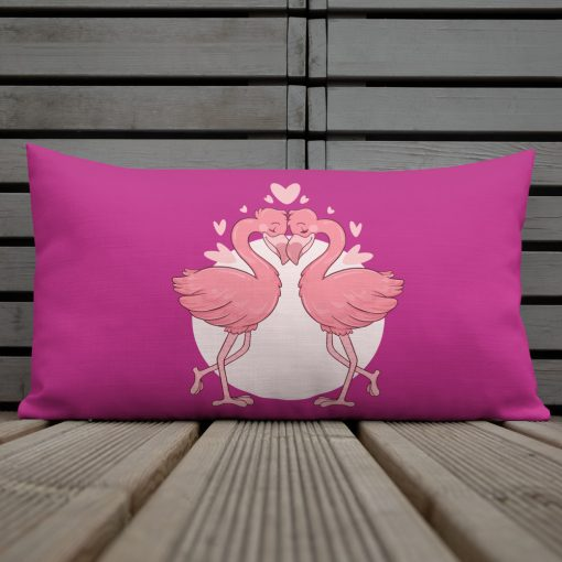 #flamingoes   Premium Pillow   Valentine's Day Collection 1