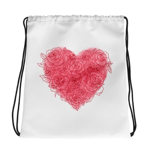 #roseHeart | Drawstring bag | Valentine's Day Collection 1