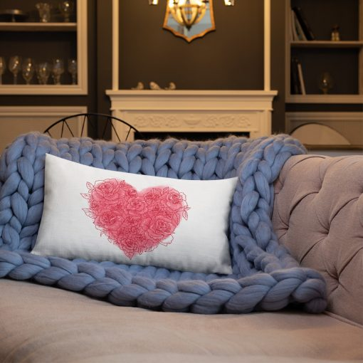 #roseHeart | Premium Pillow | Valentine's Day Collection 1