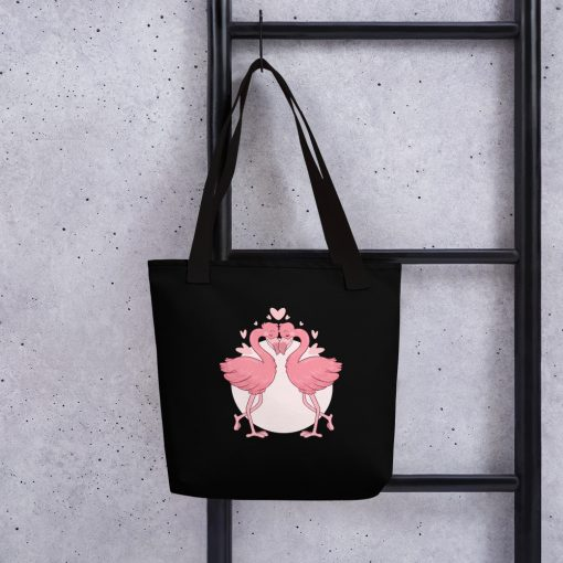 #flamingoes | Tote bag | Valentine's Day Collection 1