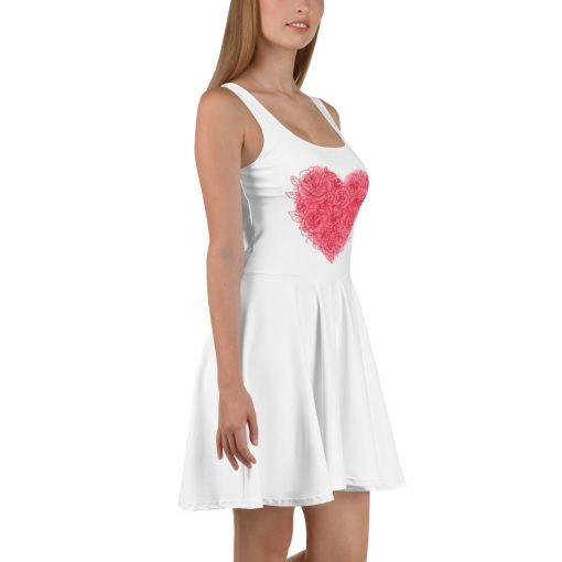 #roseHeart | Skater Dress | Valentine's Day Collection 2