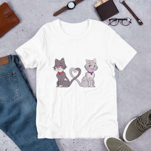 #catCouple | Short-Sleeve T-Shirt | Valentine's Day Collection 3