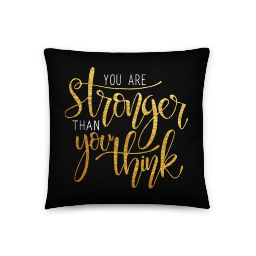 #stronger | Basic Pillow | Support Collection 3