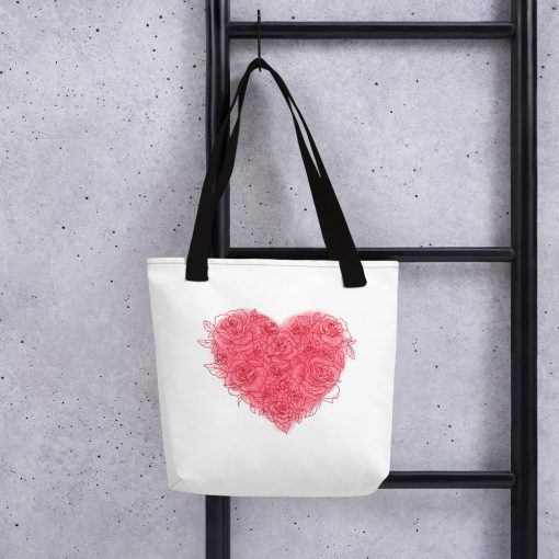 #roseHeart | Tote bag | Valentine's Day Collection 1
