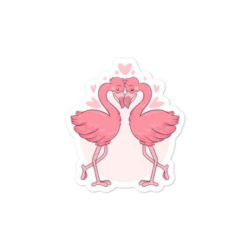 #flamingoes | Stickers | Valentine's Day Collection 2
