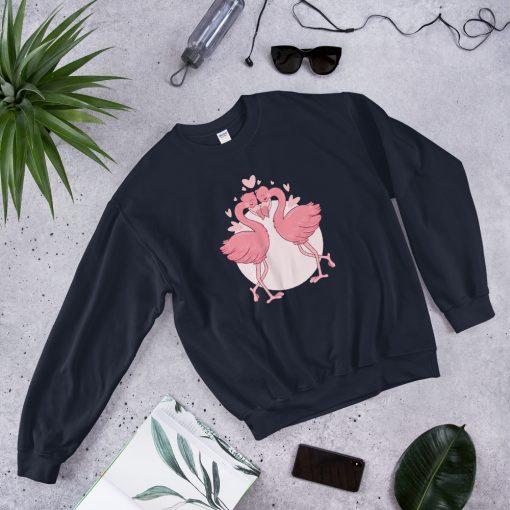 #flamingoes | Sweatshirt | Valentine's Day Collection 5