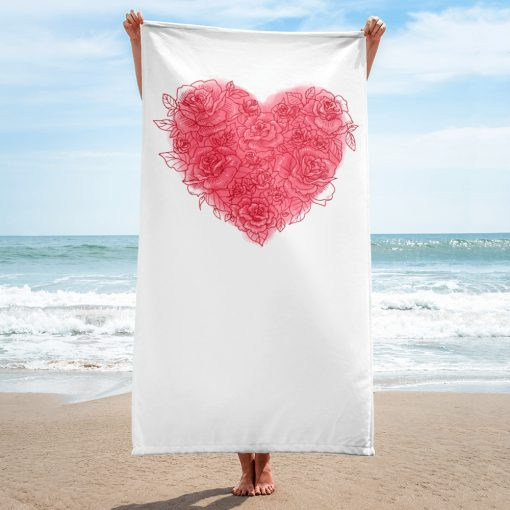 #roseHeart   Towel   Valentine's Day Collection 2