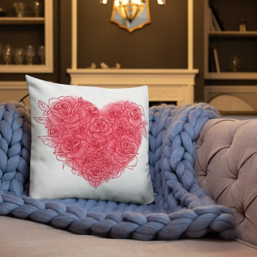 #roseHeart | Premium Pillow | Valentine's Day Collection 2