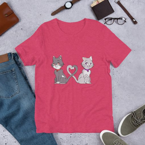 #catCouple | Short-Sleeve T-Shirt | Valentine's Day Collection 1