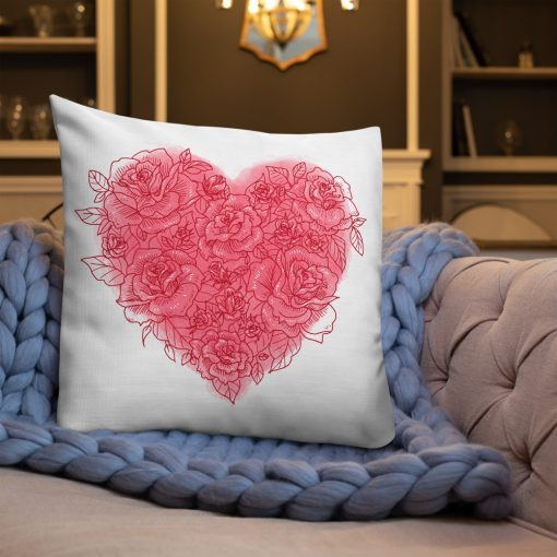 #roseHeart | Premium Pillow | Valentine's Day Collection 3