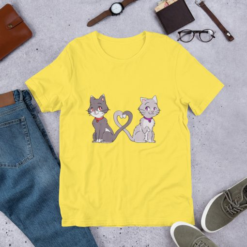 #catCouple | Short-Sleeve T-Shirt | Valentine's Day Collection 10