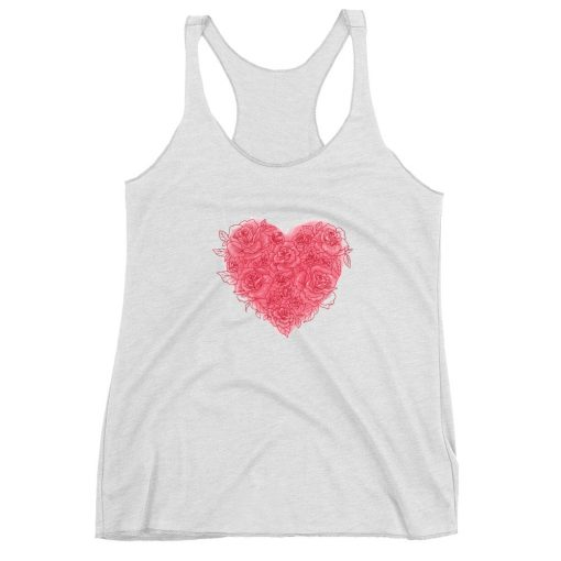 #roseHeart | Racerback Tank | Valentine's Day Collection 1
