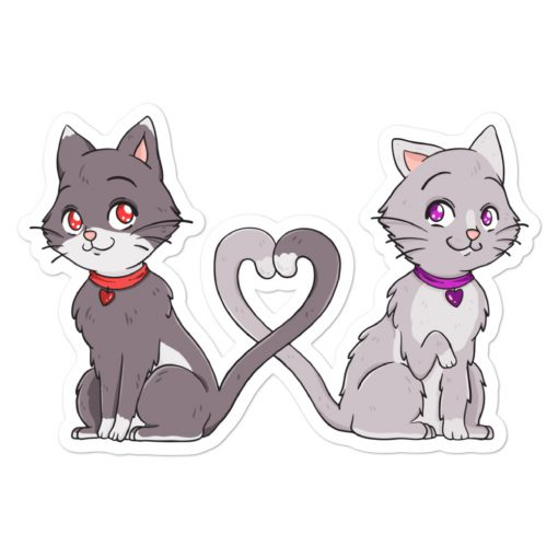 #catCouple | Stickers | Valentine's Day Collection 1