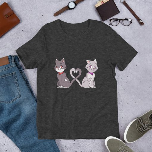 #catCouple | Short-Sleeve T-Shirt | Valentine's Day Collection 7