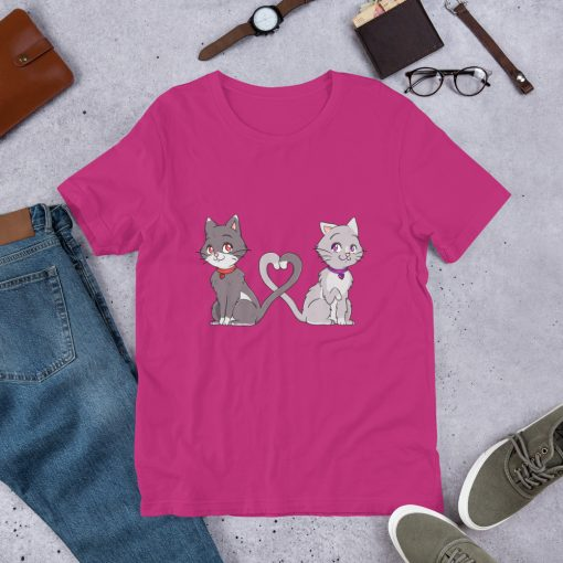 #catCouple | Short-Sleeve T-Shirt | Valentine's Day Collection 13