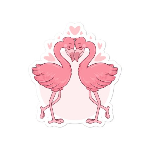 #flamingoes | Stickers | Valentine's Day Collection 3