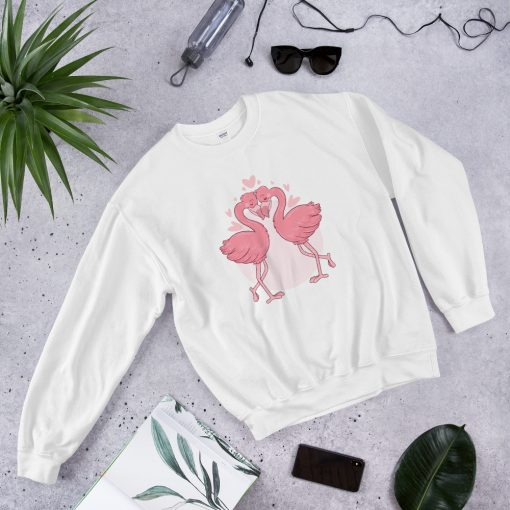 #flamingoes | Sweatshirt | Valentine's Day Collection 1