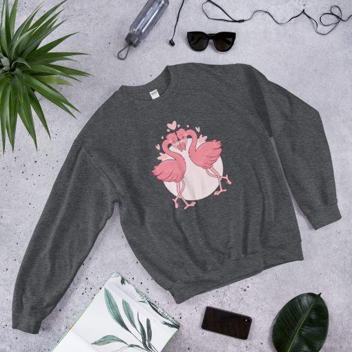 #flamingoes | Sweatshirt | Valentine's Day Collection 4
