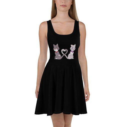 #catCouple | Skater Dress | Valentine's Day Collection 1