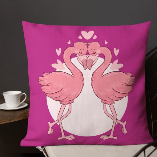 #flamingoes   Premium Pillow   Valentine's Day Collection 3