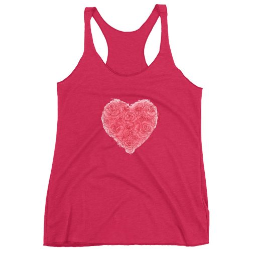 #roseHeart | Racerback Tank | Valentine's Day Collection 3