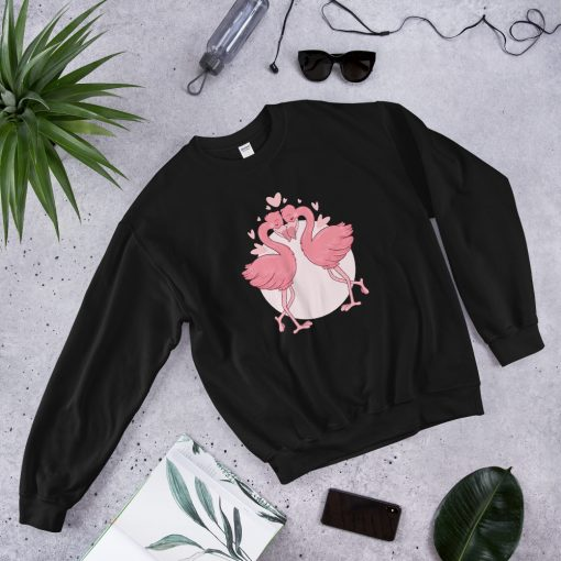 #flamingoes | Sweatshirt | Valentine's Day Collection 3