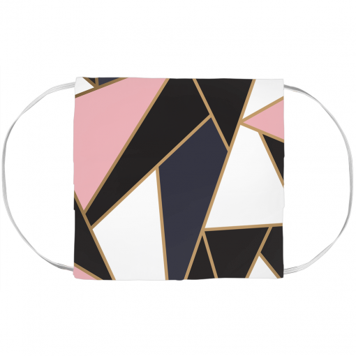 Pinkish Mosaic Face Mask Cover 1
